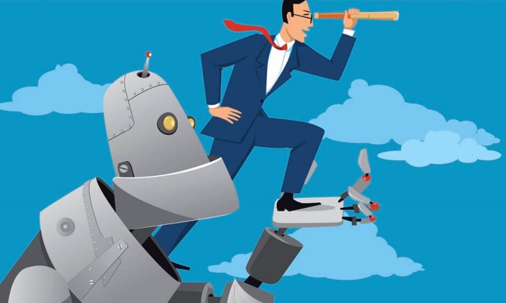 Digital Technology, Impacts on Business - AI Artificial Intelligence